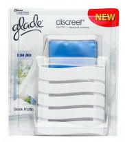 Glade Discreet Plug In - Clean Linen